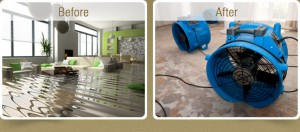 Water Restoration and Repair by A to Z carpet Cleaning in Redding ca